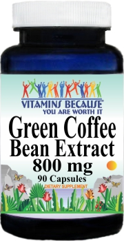11244 Green Coffee Bean Extract 800mg 90caps Buy 1 Get 2 Free