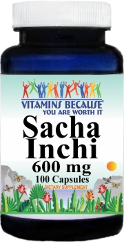 11251 Sacha Inchi 600mg 100caps Buy 1 Get 2 Free