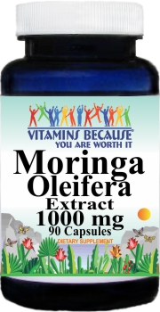 11343 Moringa Oleifera Extract 1000mg 90caps Buy 1 Get 2 Free