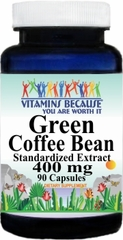 11367 Green Coffee Bean Standardized Extract 90caps Buy 1 Get 2 Free