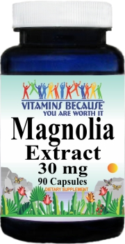 11381 Magnolia Extract 30mg 90caps Buy 1 Get 2 Free