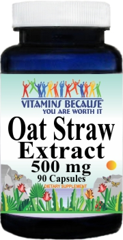 11428 Oat Straw 500mg 90caps Buy 1 Get 2 Free