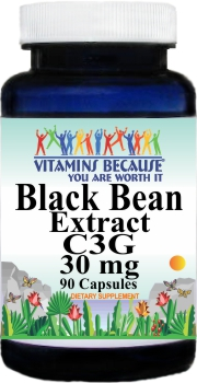 11435 Black Bean Extract C3G 30mg 90caps Buy 1 Get 2 Free