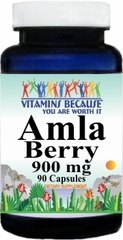11480 Amla Berry 900mg 90caps Buy 1 Get 2 Free
