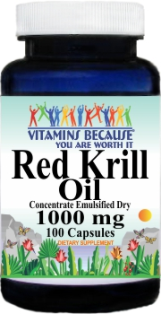11503 Red Krill Oil 1000mg 100caps Buy 1 Get 2 Free