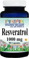11541 Resveratrol 1000mg 90caps Buy 1 Get 2 Free
