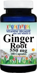 1207 Ginger Root 550mg 100caps Buy 1 Get 2 Free