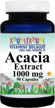 12272 Acacia Extract 1000mg 90caps Buy 1 Get 2 Free