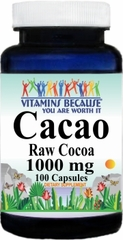 12692 Cacao 1000mg 100caps Buy 1 Get 2 Free