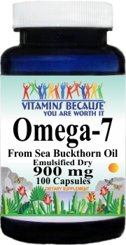 12876 Omega-7 900mg 100ct Buy 1 Get 2 Free