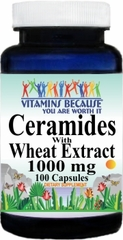 12890 Ceramides with Wheat Extract 1000mg 100ct Buy 1 Get 2 Free