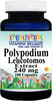 12937 Polypodium Leucotomos Extract 240mg 100ct Buy 1 Get 2 Free