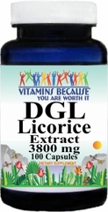 13149 DGL Licorice Extract 3800mg 100caps Buy 1 Get 2 Free