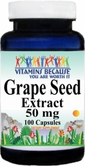 1344 Grapeseed Extract 50mg 100caps Buy 1 Get 2 Free