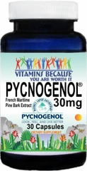 13873 Pycnogenol® French Maritime Pine Bark Extract 30mg 30caps Buy 1 Get 2 Free