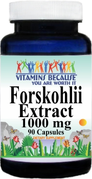 14023 Forskohlii Extract 1000mg 90caps Buy 1 Get 2 Free