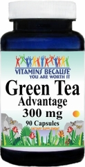 1405 Green Tea Advantage 300mg 90caps Buy 1 Get 2 Free