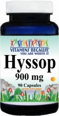 1580 Hyssop 900mg 90caps Buy 1 Get 2 Free