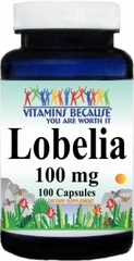 1719 Lobelia 100mg 100caps Buy 1 Get 2 Free