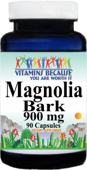 1771 Magnolia Bark 900mg 90caps Buy 1 Get 2 Free