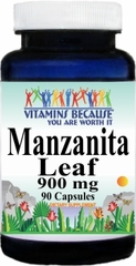 1825 Manzanita Leaf 900mg 90caps Buy 1 Get 2 Free