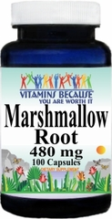 1849 Marshmallow Root 480mg 100caps Buy 1 Get 2 Free