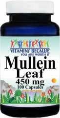 1979 Mullein Leaf 450mg 100caps Buy 1 Get 2 Free