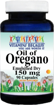 2051 Oil of Oregano 150mg Emulsified Dry 90caps Buy 1 Get 2 Free