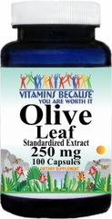 2075 Olive Leaf Standardized Extract 250mg 100caps Buy 1 Get 2 Free