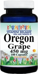 2099 Oregon Grape Root 450mg 100caps Buy 1 Get 2 Free