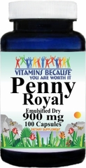 2174 Penny Royal 900mg Emulsified Dry 100caps Buy 1 Get 2 Free