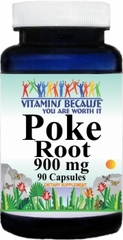 2242 Poke Root 900mg 90caps Buy 1 Get 2 Free