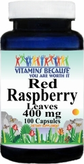 2365 Red Raspberry Leaves 400mg 100caps Buy 1 Get 2 Free