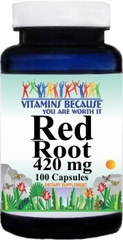 2372 Red Root 420mg 100caps Buy 1 Get 2 Free