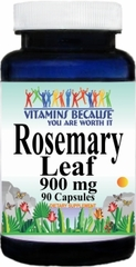 2426 Rosemary Leaf 900mg 90caps Buy 1 Get 2 Free