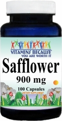 2433 Safflower 900mg 100caps Buy 1 Get 2 Free