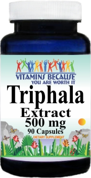 2730 Triphala Extract 500mg 90caps Buy 1 Get 2 Free