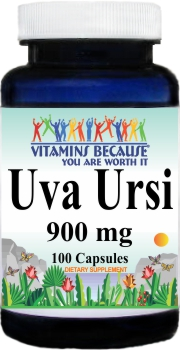 2778 Uva Ursi 900mg 100caps Buy 1 Get 2 Free