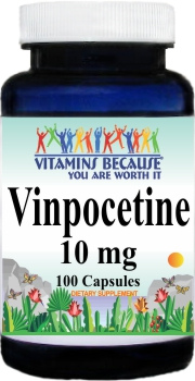 2839 Vinpocetine 10mg 100caps Buy 1 Get 2 Free