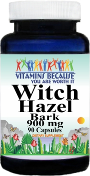 3003 Witch Hazel Bark 900mg 90caps Buy 1 Get 2 Free