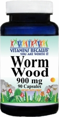 3027 Worm Wood 900mg 90caps Buy 1 Get 2 Free