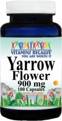 3034 Yarrow Flower 900mg 100caps Buy 1 Get 2 Free