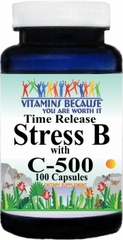 3232 Stress B w C 500 100caps Buy 1 Get 2 Free