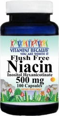 3362 Flush Free Niacin 500mg 100caps Buy 1 Get 2 Free