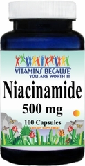 3423 Niacinamide 500mg 100caps Buy 1 Get 2 Free