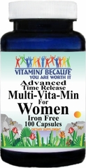 3706 Advanced Multi-Vit-Min IF Women 100caps Buy 1 Get 2 Free