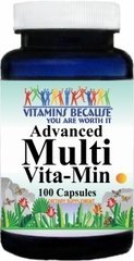 3744 Advanced Multi-Vit-Min 100caps Buy 1 Get 2 Free