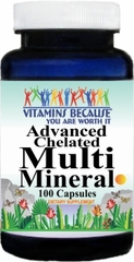3904 Advanced Multi Mineral 100caps Buy 1 Get 2 Free