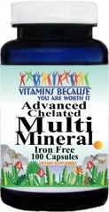 3928 Advanced Multi Mineral IF 100caps Buy 1 Get 2 Free