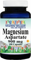 4277 Magnesium Aspartate 900mg 100caps Buy 1 Get 2 Free